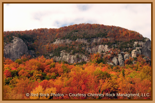 Chimney Rock Fall