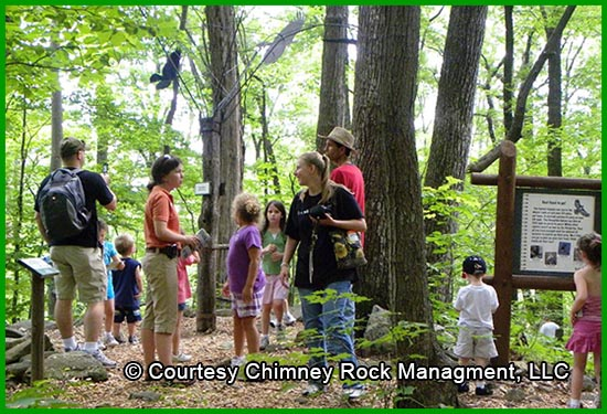 Chimney Rock Memorial Day Family Discovery Programs