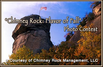 Chimney Rock Flavor of Fall Photo Contest