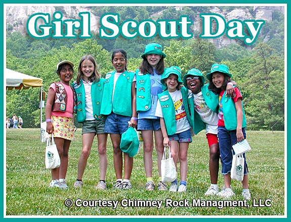Chimney Rock Girl Scout Day