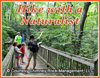 Hike with a Naturalist at Chimney Rock