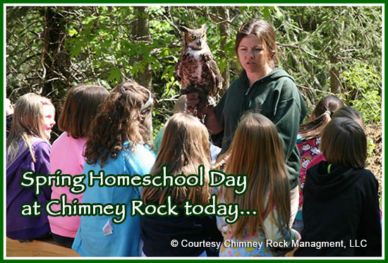 Chimney Rock Home School Events