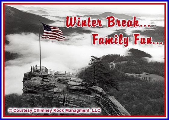 Chimney Rock Park Winter Break