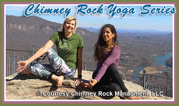 Chimney Rock Yoga Series