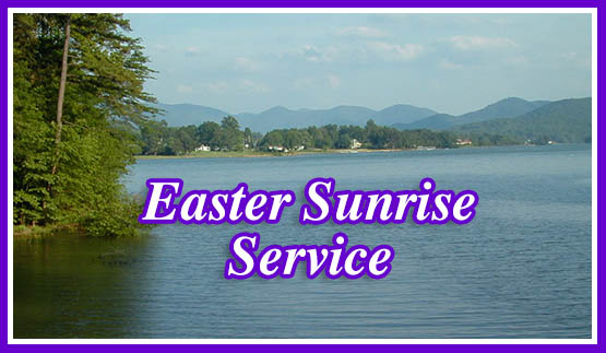 Community Easter Sunrise Services at Georgia Mountain Fairgrounds