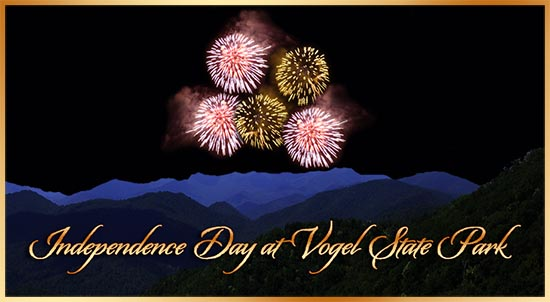 Ind�pendence Day at Vogel State Park in Blairsville GA