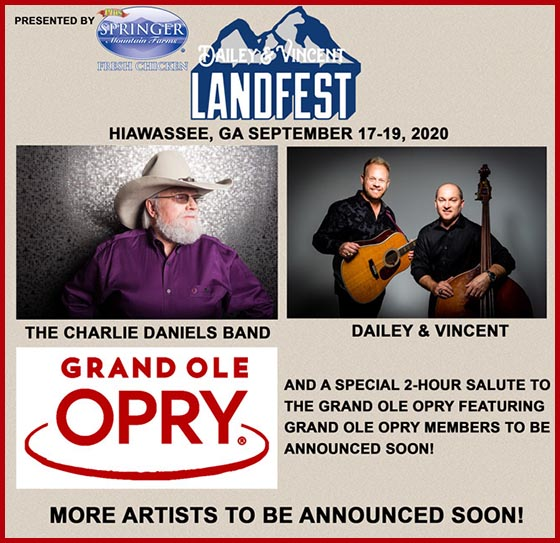 Dailey & Vincent at Georgia Mountain Fair