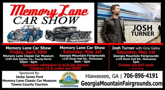 Memory Lane Car Show