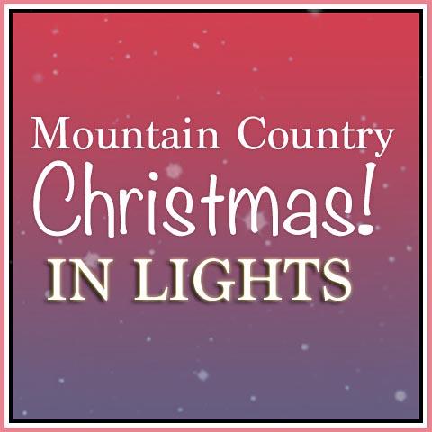Christmas Lights at Georgia Mountain Fair