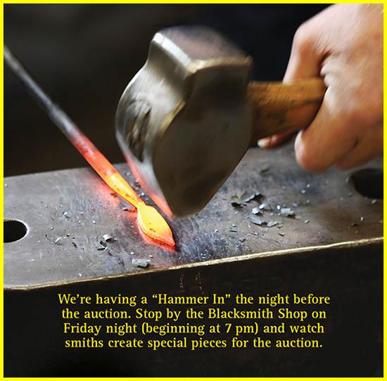 Blacksmith Hammer In