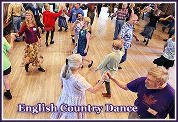 English Country Dance at John C. Campbell Folk School
