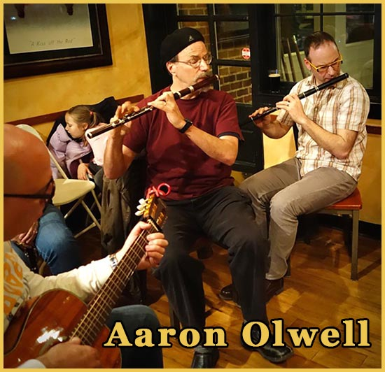 Aaron Olwell at John Campbell Folk School