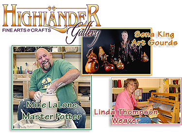 Highlander Gallery at the May 1st Art Walk