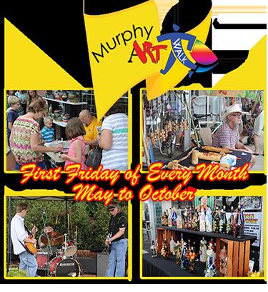 Murphy Art Walk by the Valley River Art Guild