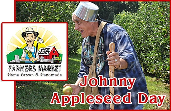 Blairsville Ga Johnny Appleseed Day At The Union County