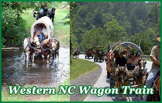 Western NC Wagon Train