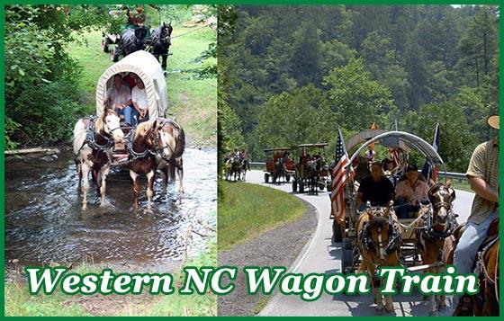Western NC Wagon Train