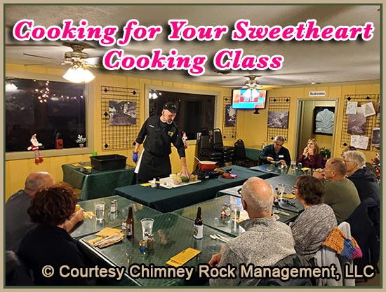Cooking for your Sweetheart Cooking Class