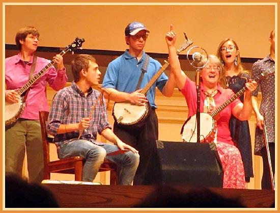 Berea College Folk Roots Ensemble at John Campbell Folk School