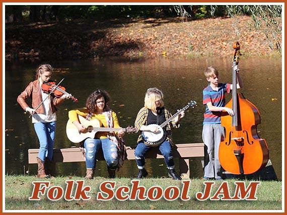 Folk School JAM at John C. Campbell Folk School