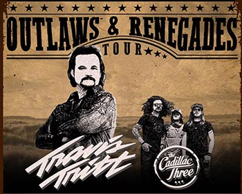 Outlaws & Renegades Tour With Travis Tritt & Cadillac Three