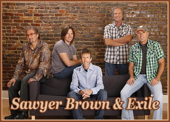 Sawyer Brown & Exile