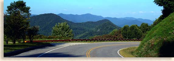 Cherohala Skyway Mountain View