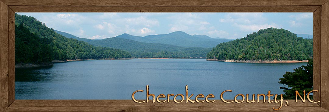 Lake Hiawassee in Cherokee County NC