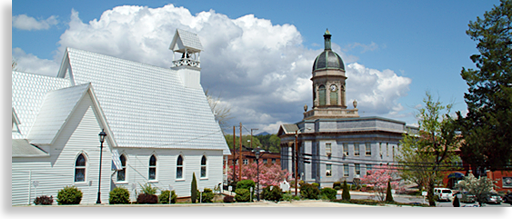 Cherokee County Courthouse and Episcopal Church