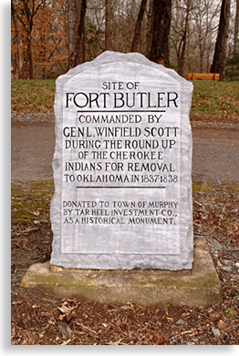 Fort Butler in Murphy North Carolina