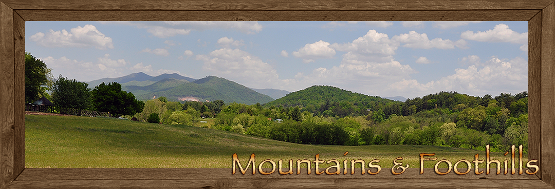 Mountains & Foothills in Cherokee County NC