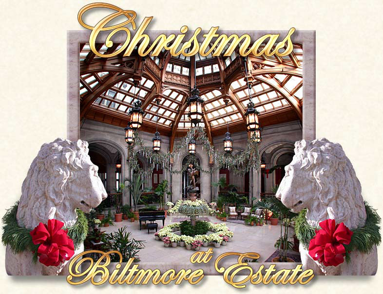 Christmas at Biltmore Estate in Asheville North Carolina