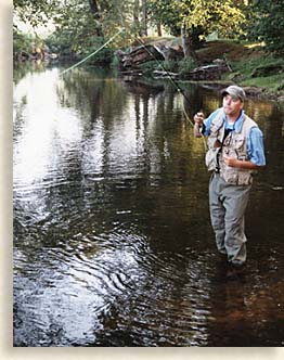 Fly Fishing in Dawson County