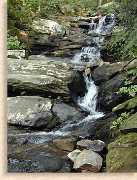 Fort Mountain Waterfall