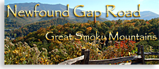 Newfound Gap in the Smoky Mountains of Tennessee