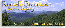 Russell Brasstown Scenic By Way in the North Georgia Mountains