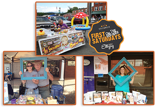 First Saturdays on the Square in Ellijay GA