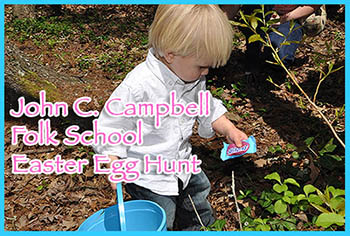 John C. Campbell Easter Egg Hunt