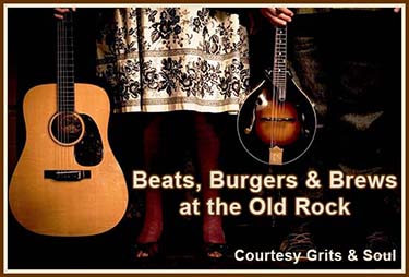 Beats, Burgers & Brews at Old Rock Cafe