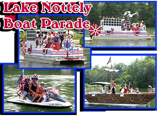 Lake Notteley Boat Parade