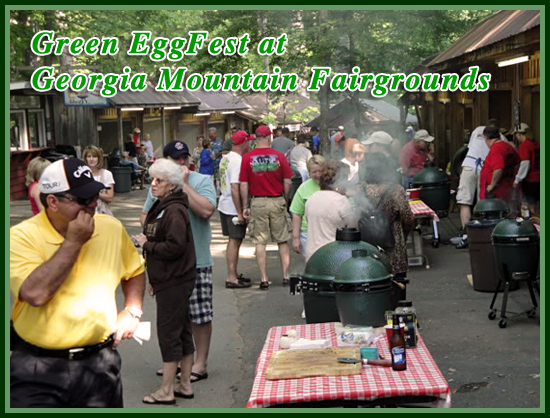Green EggFest at Georgia Mountain Fairgrounds