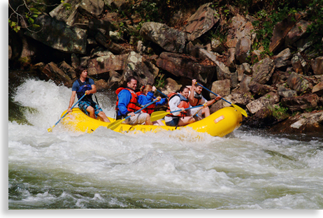 Rafting on the Nantahala River
