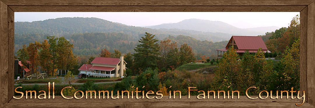 Small Communities in Fannin County