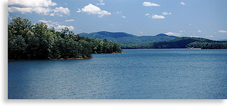 Lake Blue Ridge in Fannin County Ga