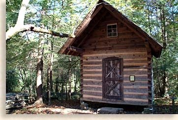 Gott Cabin at Foxfire Museum and Heritage Cener