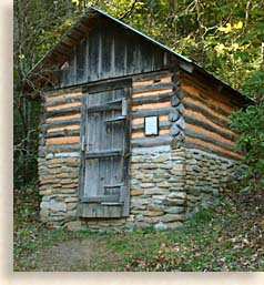Root Cellar at Foxfire Museum and Heritage Center