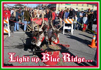 Light up Blue Ridge