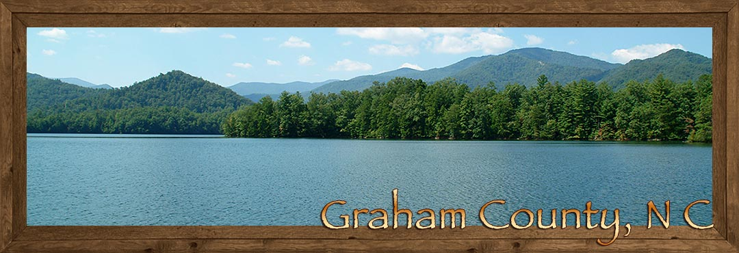 Lake Santeetlah in Graham County NC