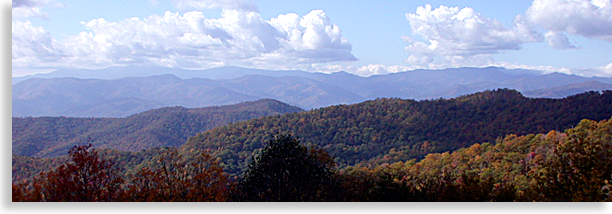 Haywood County from the Blue Ridge Parkway