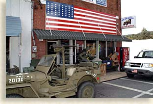 The Old Grouch Military Store